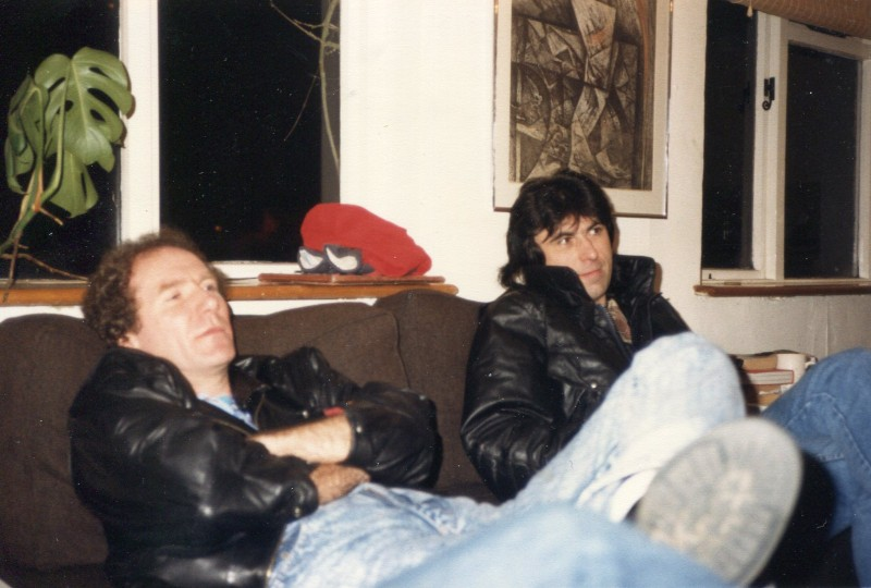 Ray with Cozy Powell