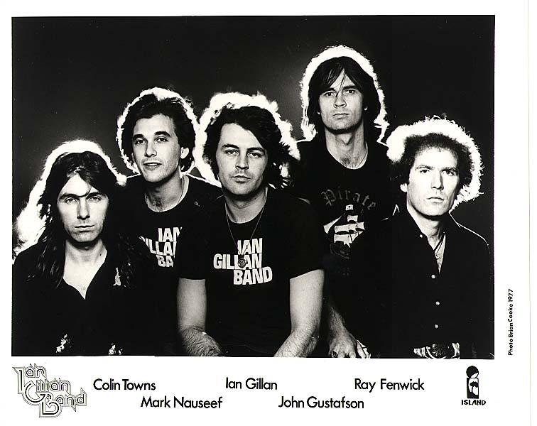 Island publicity shot, 1977